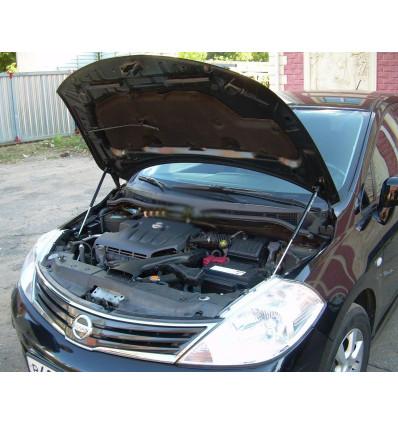 Амортизатор (упор) капота на Nissan Tiida KU-NI-TI00-02