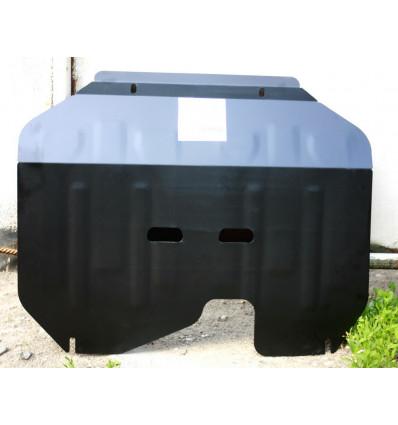Защита картера двигателя и кпп на Hyundai ix35 04.411.C2