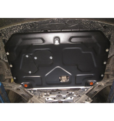 Защита картера двигателя и кпп на Kia Soul 05.764.C2
