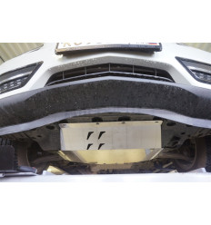 Защита картера двигателя и кпп на Acura MDX