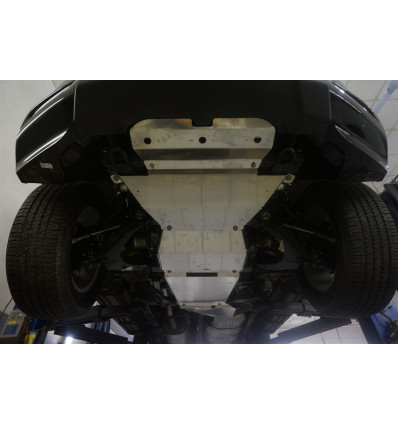 Защита днища на Chevrolet TrailBlazer 04.17ABC