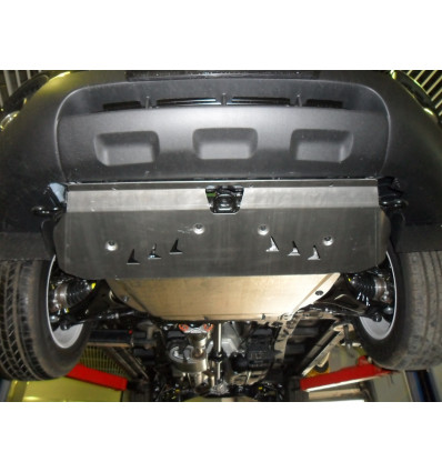 Защита картера двигателя и кпп на Kia Sorento 11.28ABC