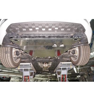 Защита картера двигателя и кпп на Skoda Octavia 21.03ABC