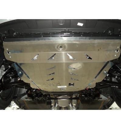 Защита картера двигателя и кпп на Ford S-Max 25.01ABC