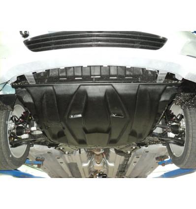 Защита картера двигателя и кпп для Hyundai Solaris 10.07k