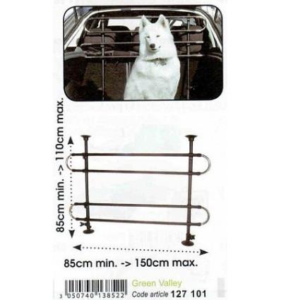 Решетка разделительная для перевозки собак Green Valley 127101