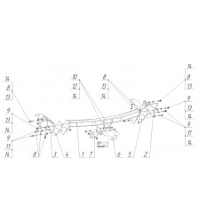 Фаркоп на Lexus NX 3098A