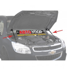 Амортизатор (упор) капота на Chevrolet Trailblazer UCHTRA012