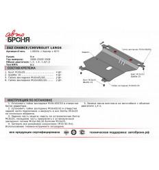 Защита картера и КПП Chevrolet Lanos 111.06501.1