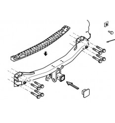 Фаркоп на  Porsche Cayenne 321641600001
