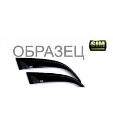 Дефлекторы боковых окон на Peugeot Boxer SFIDUC0632