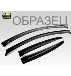 Дефлекторы боковых окон на Nissan Tiida SNITIIS0632