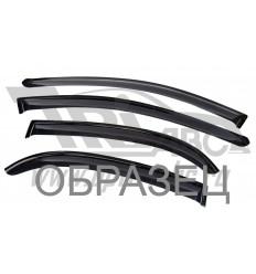 Дефлекторы боковых окон на Fiat Doblo DFT102