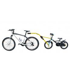 Прицепное устройство Peruzzo Trail Angel для детского велосипеда к взрослому (желтое) 300-G
