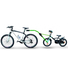 Прицепное устройство Peruzzo Trail Angel для детского велосипеда к взрослому (зеленое) 300-V