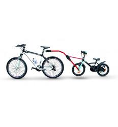 Прицепное устройство Peruzzo Trail Angel для детского велосипеда к взрослому (красное) 300-R
