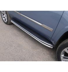 Защита порогов на Cadillac Escalade CADESC15-08