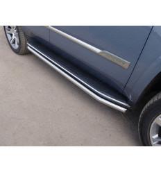 Защита порогов на Cadillac Escalade CADESC15-09
