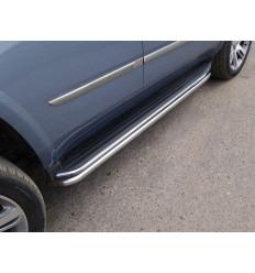 Защита порогов на Cadillac Escalade CADESC15-10
