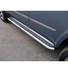 Пороги с площадкой на Cadillac Escalade CADESC15-12