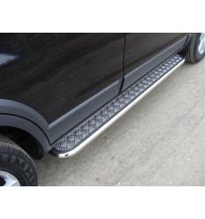 Пороги с площадкой на Chevrolet Captiva CHEVCAP12-04