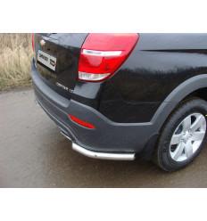 Защита задняя (уголки) на Chevrolet Captiva CHEVCAP13-06