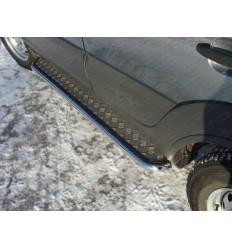 Пороги с площадкой на Chevrolet Niva CHEVNIV12-03