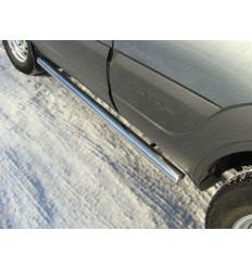 Пороги труба на Chevrolet Niva CHEVNIV12-04