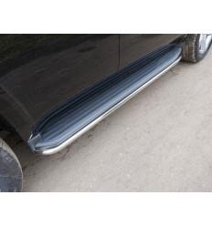 Защита порогов на Chevrolet Tahoe CHEVTAH16-08