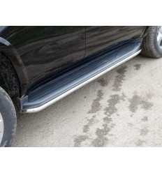 Защита порогов на Chevrolet Tahoe CHEVTAH16-21