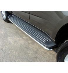 Защита порогов на Chevrolet Trailblazer CHEVTRBL13-07