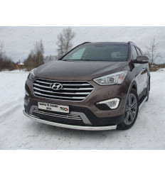 Защита передняя нижняя на Hyundai Santa Fe HYUNSFGR14-02