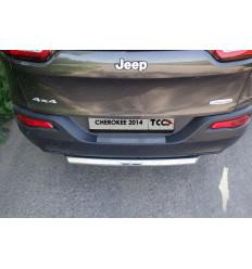 Защита задняя (короткая) на Jeep Cherokee JEEPCHER14-12