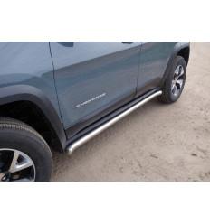 Пороги труба на Jeep Cherokee JEEPCHERTRAIL14-09