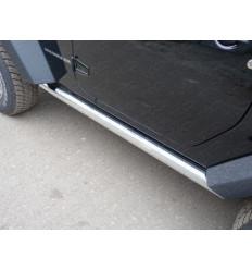 Пороги труба на Jeep Wrangler JEEPWRAN3D(3.6)14-05