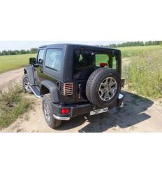 Защита задняя (уголки) на Jeep Wrangler JEEPWRAN3D(3.6)14-12