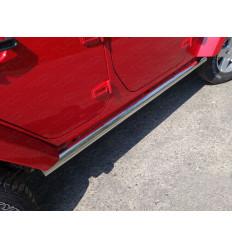 Пороги труба на Jeep Wrangler JEEPWRAN5D(3.6)14-05