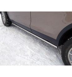 Пороги труба на Land Rover Discovery Sport LRDISSPOR15-03
