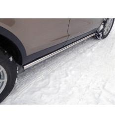 Пороги труба на Land Rover Discovery Sport LRDISSPOR15-04