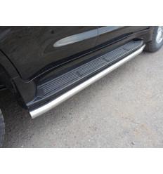 Защита порогов на Lexus LX 570/LX 450d LEXLX450d15-11