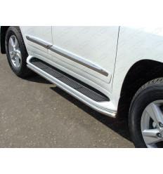 Защита порогов на Lexus LX 570 LEXLX57012-02
