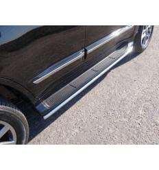 Защита порогов на Lexus LX 570 LEXLX570SP14-08