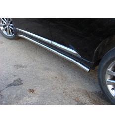 Пороги труба на Lexus RX LEXRX35012-02