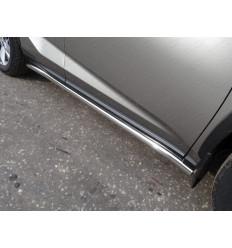 Пороги труба на Lexus NX LEXNX20015T-14
