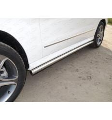 Пороги труба на Mercedes GLK MERGLK220D14-04