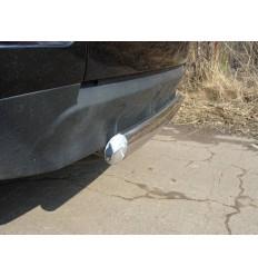 Защита задняя центральная на Mitsubishi Outlander MITOUTXL10-06