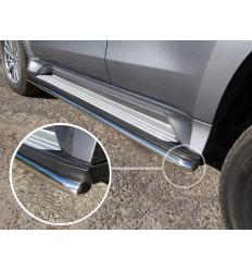 Защита порогов на Mitsubishi Pajero Sport MITPASPOR16-13