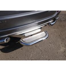 Задняя подножка нерж. лист (под фаркоп) на Mitsubishi Pajero Sport MITPASPOR16-27