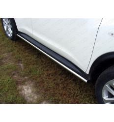 Пороги труба на Nissan Juke NISJUKE4WDT12-02
