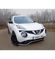 Защита передняя (кенгурин) на Nissan Juke NISJUK2WD14-01